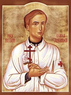 St. Alexander Schmorell the Passion-bearer  Feast day: 13th July