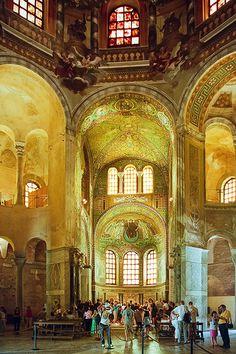 Ravenna, Italy, Basilica di San Vitale