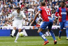 Blog Esportivo do Suíço:  Com gols de Cristiano Ronaldo e Marcelo, Real bate Levante e dorme líder