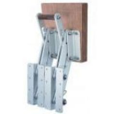 Outboard Motor Bracket:  Outboard motor bracket for 4-stroke engines. Made in reinforced anodized aluminum frame and stainless steel springs. Marine wood pad.  Max. load:70 kgs Weight:7,6 kg Travel:28 cms.  See more details at: http://safeseamalta.com/product/outboard-motor-bracket-6/