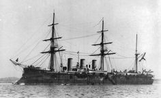 The Pamiat Azova (Russian: Память Азовa) was a unique armoured cruiser built for the Imperial Russian Navy in the late 1880s. She was decommissioned from front line service in 1909, converted into a depot ship and sunk by British torpedo boats during the Baltic Naval War, part of the Russian Civil War.