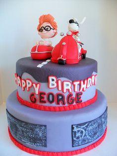 Peabody and Sherman Cake www.albenacakes.com
