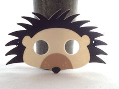 Sentivo Hegdehog maschera - Hedgehog compleanno maschere - Henry la maschera di Hedgehog