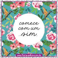 Bom Dia Quinta! Diga sim às coisas boas da vida.  #bomdia #bom #dia #semana #linda #dialindo #otimodia #feliz #topquadros #lojaonline #decoração #quadros #posters #parede #compredopequeno #quinta