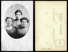 Portrait of three girls    xxxx  State Archives #0770-145