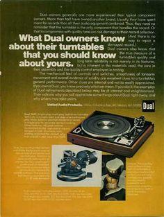 Dual 1249 turntable