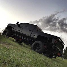 Blacked Out Silverado