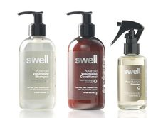 Aloof has designed branding and packaging for Swell, a no compromise natural hair care brand.