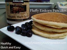 Perfect Einkorn Pancakes