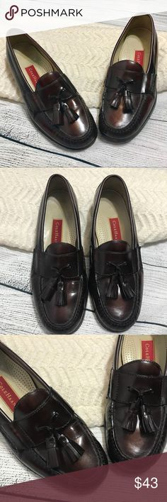 Cole Haan Men's Dark Brown Leather Loafers 8.5M Great condition; Size 8.5 Cole Haan Shoes Loafers & Slip-Ons