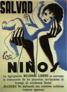 Unknown designer, 1 9 3 7, Save the children (Association of women free). (Spain)