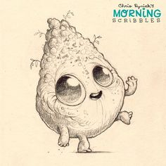Dirtclod, out for a walk.  #morningscribbles