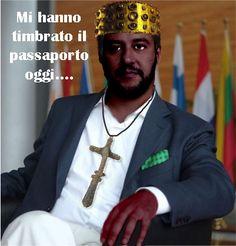 Vignettismo: Passaporto Salvini