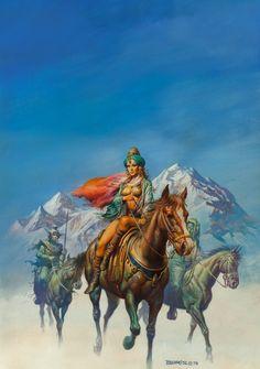 Boris Vallejo (American, b. 1941). King's Daughter, | Lot #71231 | Heritage Auctions