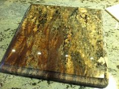 Granite Remnants for Home Remodeling on a Budget Kitchen Cabinets And Countertops, Soapstone Countertops, Cheap Countertops, Granite Tile, Granite Remnants, Marble Quartz, Home Remodeling, Adhesive, Diy Ideas