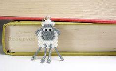 Beaded Sheep Charm Brick Stitch Bead Weaving by BeadCrumbs