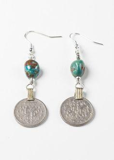 Caravan Coin Earrings