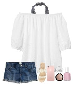 """""""2nd dance recital this morning!"""" by kellycarrick ❤ liked on Polyvore featuring Aéropostale, Gap, J.Crew, Jack Rogers and Essie"""