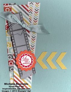 A Round Array Film Strip Smile by Michelerey - Cards and Paper Crafts at Splitcoaststampers
