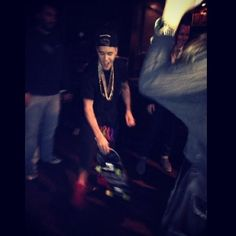 Video: Justin Bieber Skate In The Hotel And The Leather & Laces Superbowl Party