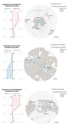 Президенские выборы в Северной Каролине с 2000 по 2012