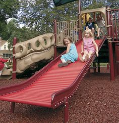 Offer #kids a multi-sensory #play experience with the Rollerslide. #InclusivePlay