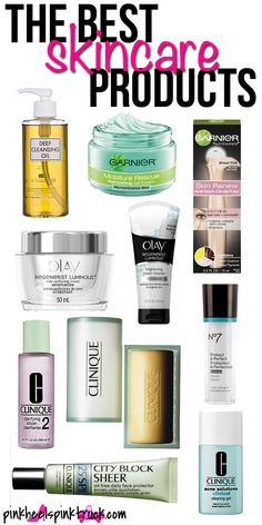 THE Best Skincare Products via http://pinkheelspinktruck.com (@Taylor @ Pink Heels Pink Truck)