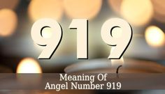 919 Angel Number