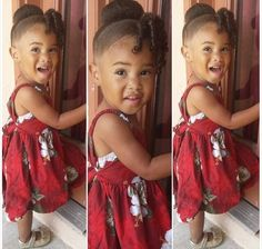 Cute hairstyles for little girls. Updo for little girls