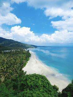 Secret view point at Lombok!