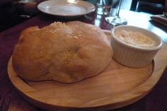 Garlic Ciabatta Loaf with Whipped Blue Cheese from Cherrywood Kitchen