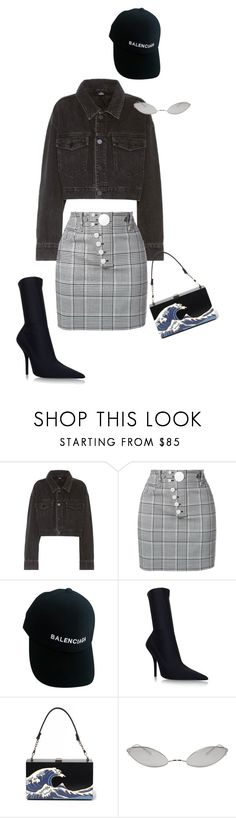 """Untitled #591"" by milly-oro on Polyvore featuring Alexander Wang, Balenciaga and Acne Studios"