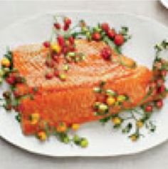 Baked Salmon with Tomatoes & Couscous - Mionetto