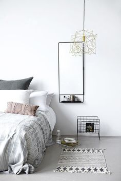 w h i t e. Bedrooms can be modern, retro or formal, but they have to be cozy and elegant. Please visit www.homedesignideas.eu and see more suggestions. #interiors #decoration #contemporary