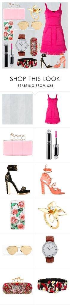 """Fashion for all"" by denisee-denisee ❤ liked on Polyvore featuring Love Moschino, Alexander McQueen, Guerlain, Paula Cademartori, Sonix, Ted Baker, Linda Farrow, Kapten & Son and Dolce&Gabbana"
