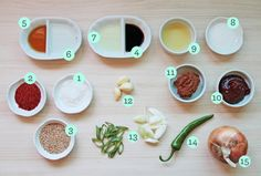 Stocking a Korean pantry: a guide to the basic cooking ingredients in Korean food.
