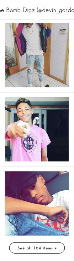 """The Bomb Digz (@devin_gordon)"" by kidwitcurls ❤ liked on Polyvore"