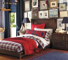Boys Bedroom Decor, Trendy Bedroom, Bedroom Ideas, Kid Bedrooms, Boy Rooms, Masculine Room, Nautical Interior, Kids Bunk Beds, Loft Spaces