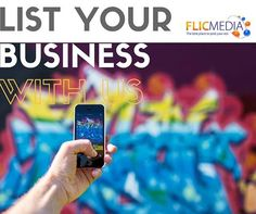 List Your Business With Us!  #Flicmedia #advertising #onlineAds #classified #postforFree