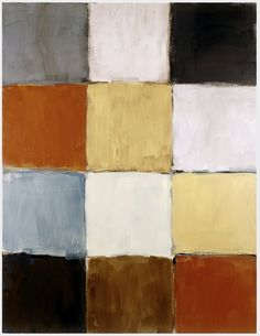 Checker Blue by Sean Scully