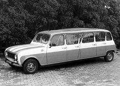 """Renault R4 als """"Strech-Limo"""", aufgenommen im Jahre 1981"""