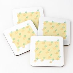 « Ananas Dorée Fruit Exotique » par LenysEcoHome | Redbubble Gold Pineapple, Golden Color, Juice, Canning, Exotic Fruit, Coasters, Juices, Juicing, Home Canning