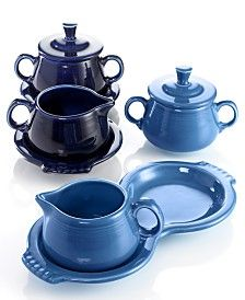 Fiesta Sugar and Creamer Set Collection