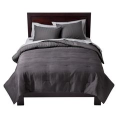 Target Home™ Pintuck Comforter Set - Gray