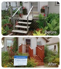 Habitat For Humanity, Before And After Pictures, Home Repairs, Habitats, Exterior, Outdoor Structures, Outdoor Spaces