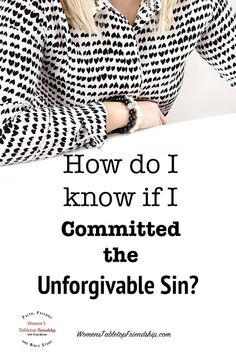 Committing the unforgivable sin will not be forgiven. How do I know if I committed this sin? #womenstabletopfriendship #HolySpirit #unpardonablesin #unforgivablesin #biblestudy #studytheWord #readtheBible Bible Study Plans, Bible Study Group, Online Bible Study, Bible Study Journal, Christian Prayers, Christian Faith, Prayer And Fasting, Prayer Quotes, Godly Man