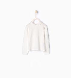ZARA - KINDER - Shirt aus Biobaumwolle mit Bubikragen