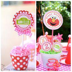 Elmo Birthday Party Printable  Pink Version by shindigparties, $29.00