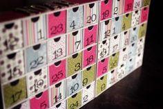 Make your won reusable Advent Calendar