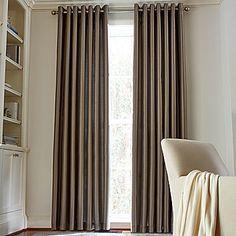Royal Velvet Plaza Grommet-Top Lined Blackout Curtain Panel